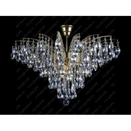 L17 555/11/1-A - Glass LPS - kryształowy żyrandol/lampa wisząca - L17 555/11/1-A - tanio - promocja - sklep