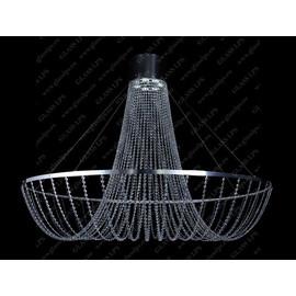 L17 574/06/6; Ni - Glass LPS - kryształowy żyrandol/lampa wisząca