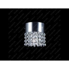 L17 260/01/6; Ni - Glass LPS - kryształowy żyrandol/lampa wisząca