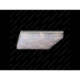 L17 250/09/6; Ni - Glass LPS - kryształowy żyrandol/lampa wisząca