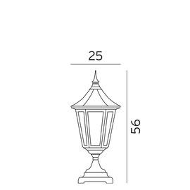 Modena - Norlys - lampa stojąca ogrodowa