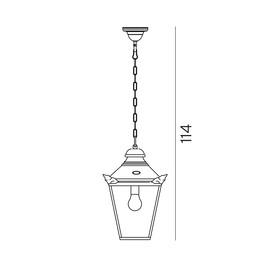 Chelsea - Norlys - zewnętrzna lampa wisząca