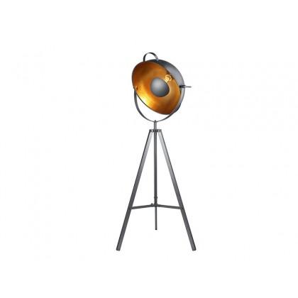 TOMA FLOOR BLACK - Azzardo - lampa stojąca - BP-8055-BK metal - tanio - promocja - sklep