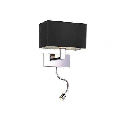 MARTENS WALL LED - Azzardo - kinkiet - MB2251-B-LED-R BK - tanio - promocja - sklep