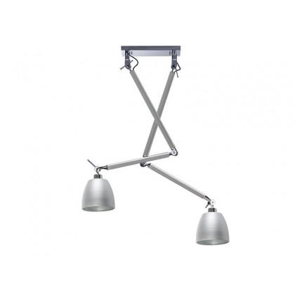 ZYTA 2 S PENDANT ALU - Azzardo - plafon/lampa sufitowa - MD2300-2S ALU/ALU - tanio - promocja - sklep