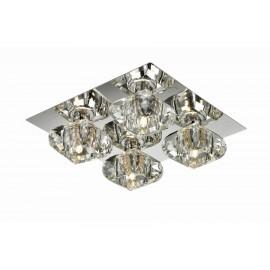 Rubic 4 - Azzardo - plafon/lampa sufitowa