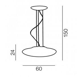Pires 60 - Azzardo - lampa wisząca