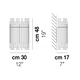 Diadema AP E27 - Vistosi - kinkiet nowoczesny - DIADEMAAPE27 - tanio - promocja - sklep Vistosi DIADEMAAPE27 online