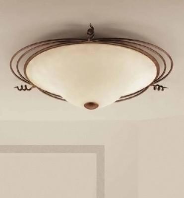 klasyczna lampa włoska sufitowa, włoski plafon do salonu
