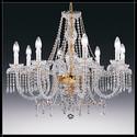 Alicante 8L - Voltolina - kryształowa lampa wisząca