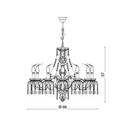 Barcelona 12L - Voltolina - lampa wisząca