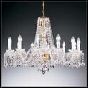 Barcelona 12L - Voltolina - kryształowa lampa wisząca