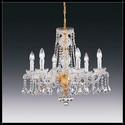 Barcelona 6L - Voltolina - kryształowa lampa wisząca
