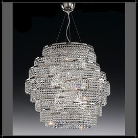 DNA 70 - Voltolina - kryształowa lampa wisząca