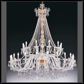 Dream 24+12L - Voltolina - kryształowa lampa wisząca