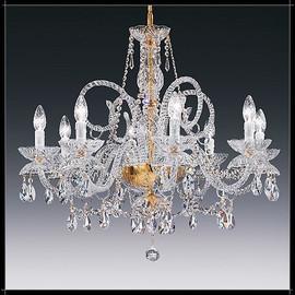 Granada 8L - Voltolina - lampa wisząca kryształowa