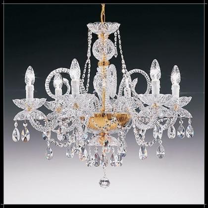 Granada 6L - Voltolina - lampa wisząca kryształowa - Granada 6L - tanio - promocja - sklep