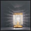 Mosca Tavolo 1L - Voltolina - lampa biurkowa kryształowa