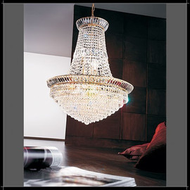New Orleans Impero 60 - Voltolina - lampa wisząca kryształowa