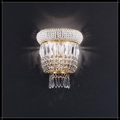 Osaka Parete 2L - Voltolina - kinkiet klasyczny kryształowy - Osaka Parete 2L - tanio - promocja - sklep