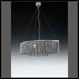 Rainbow Ovale 6L - Voltolina - lampa wisząca kryształowa
