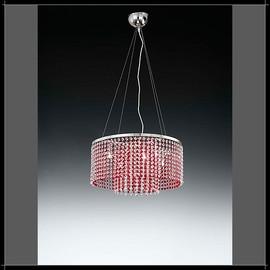Rainbow Tonda 6L - Voltolina - lampa wisząca kryształowa