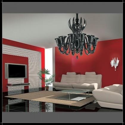 Rialto 12L - Voltolina - lampa wisząca