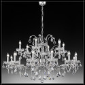 Salisburgo 12+6L - Voltolina - lampa wisząca kryształowa