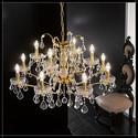Salisburgo 8+4L - Voltolina - lampa wisząca kryształowa