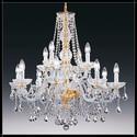 Serenade 8+4L - Voltolina - lampa wisząca kryształowa
