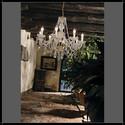 Serenade 8L - Voltolina - lampa wisząca kryształowa