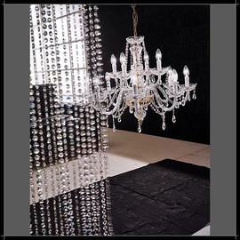 Siviglia 8+4L - Voltolina - lampa wisząca kryształowa