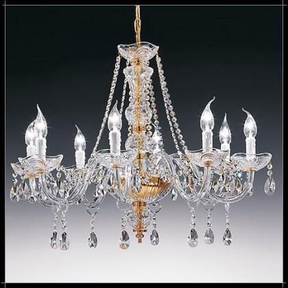 Siviglia 8L - Voltolina - lampa wisząca kryształowa - Siviglia 8L - tanio - promocja - sklep
