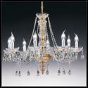 Siviglia 8L - Voltolina - lampa wisząca kryształowa