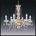 Siviglia 6L - Voltolina - lampa wisząca kryształowa
