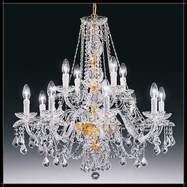 Temptation 8+4L - Voltolina - lampa wisząca kryształowa