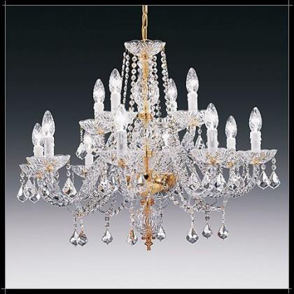 Toledo 8+4L - Voltolina - lampa wisząca kryształowa - Toledo 8+4L - tanio - promocja - sklep