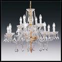 Toledo 8+4L - Voltolina - lampa wisząca kryształowa