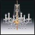 Toledo 6L - Voltolina - lampa wisząca kryształowa