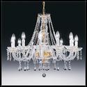 Valencia 12L - Voltolina - lampa wisząca kryształowa