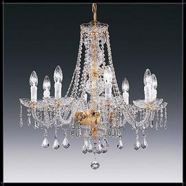 Valencia 8L - Voltolina - lampa wisząca kryształowa