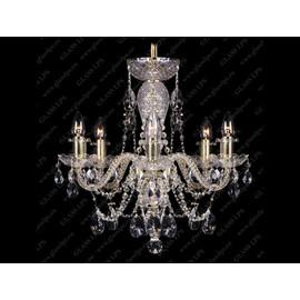 L11 009/06/1-A, GOLD, lip. - Glass LPS - kryształowa lampa wisząca
