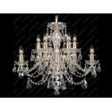 L11 009/10/1-A, GOLD, lip. - Glass LPS - lampa wisząca kryształowa