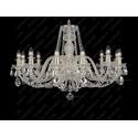 L11 009/12/1-A, F 1 floor, GOLD, lip. - Glass LPS - lampa wisząca kryształowa