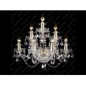 N21 009/07/1-A, GOLD, lip. - Glass LPS - kinkiet klasyczny kryształowy