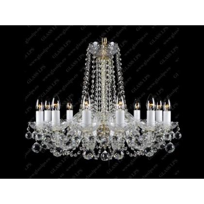 L11 007/10/4, F 1 floor - Glass LPS - lampa wisząca