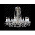 L11 007/12/4, F 1 floor - Glass LPS - lampa wisząca kryształowa