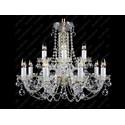 L11 007/12/4, F 2 floor - Glass LPS - lampa wisząca kryształowa