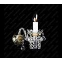 N21 007/01/4 - Glass LPS - kinkiet klasyczny kryształowy