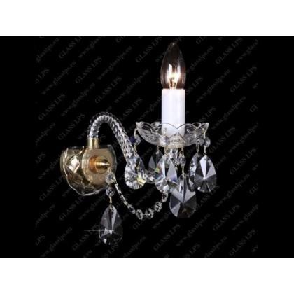 N21 120/01/1-A - Glass LPS - kinkiet klasyczny kryształowy - N21 120/01/1-A - tanio - promocja - sklep